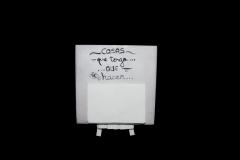 Azulejo pequeño notas con soporte