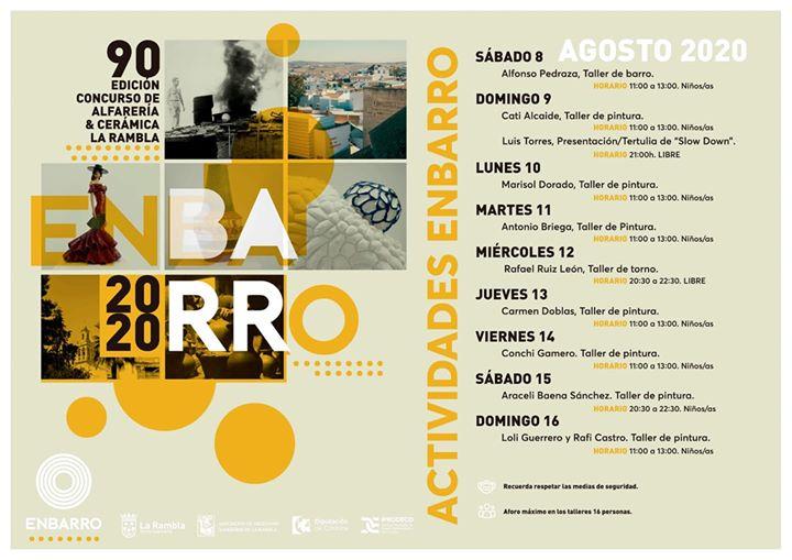 Programa de actividades. ENBARRO 2020