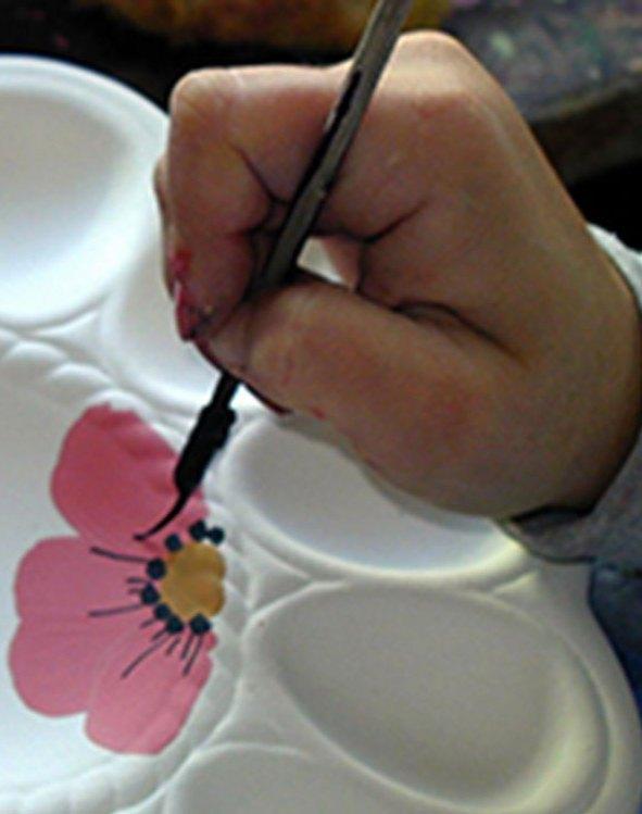 cerámica decorada